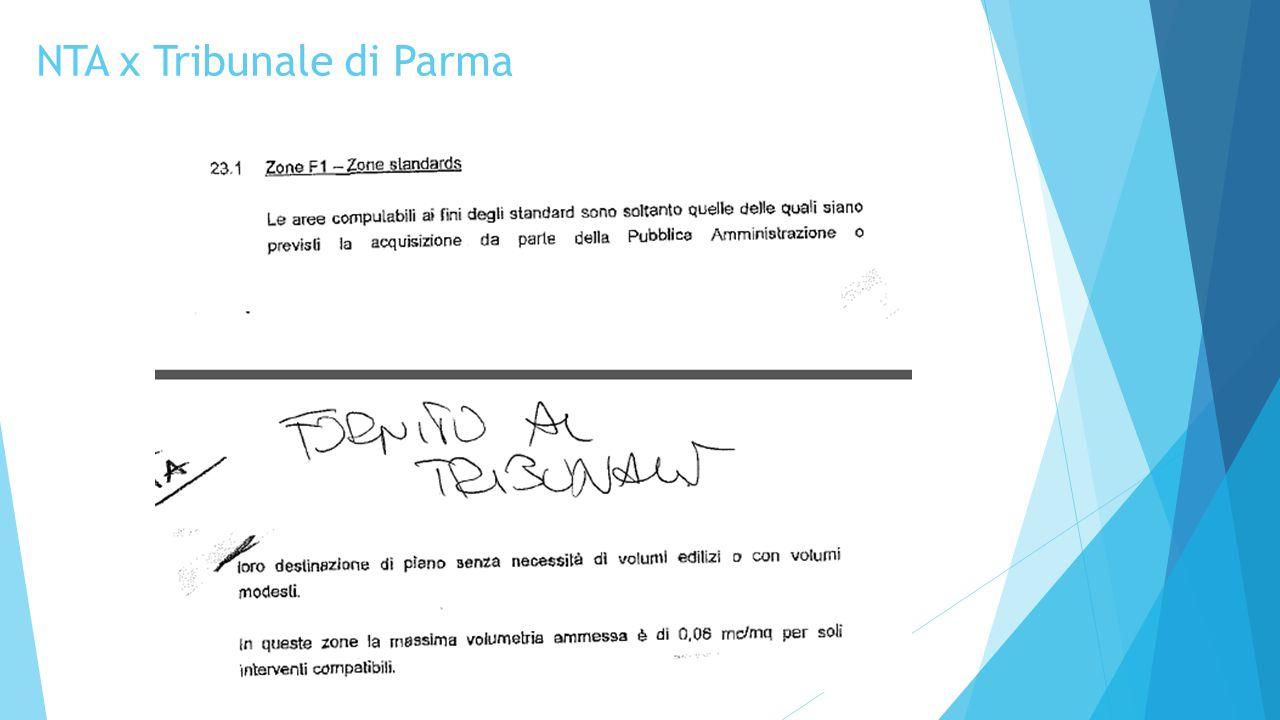NTA x Tribunale di Parma