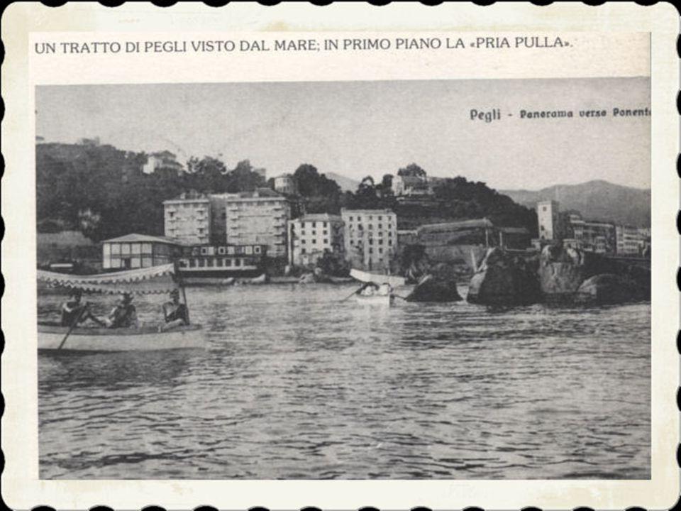 8)Una delle più note tradizioni pegliesi è sempre stata la «Festa del Mare» che durante l'estate attirava una grande folla sul suo lungomare, specialm