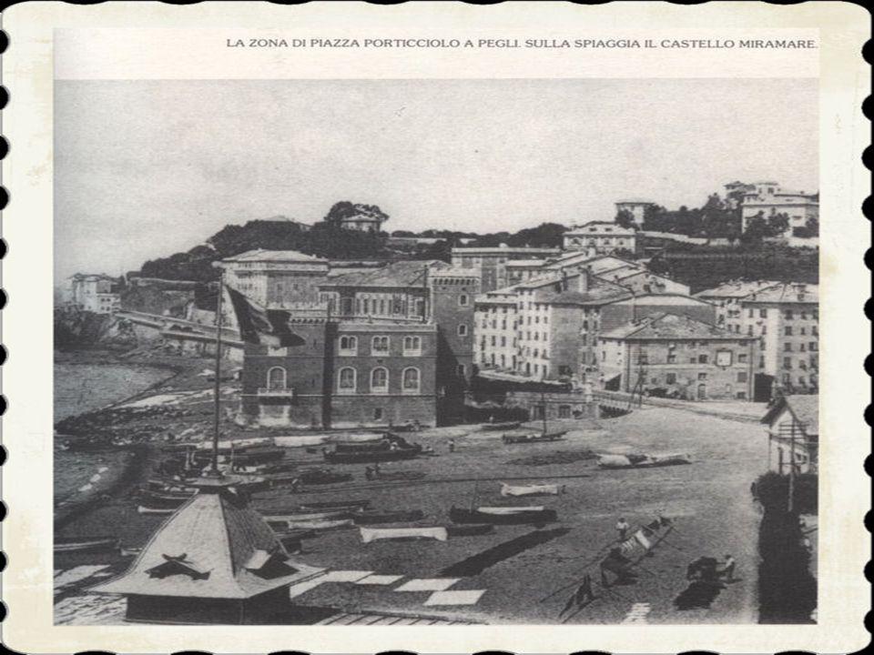 1)L'antica via romana, dopo aver attraversato il Varenna all'altezza dell'ex stabilimento Morteo, si inerpicava nei terreni dell'attuale villa Durazzo