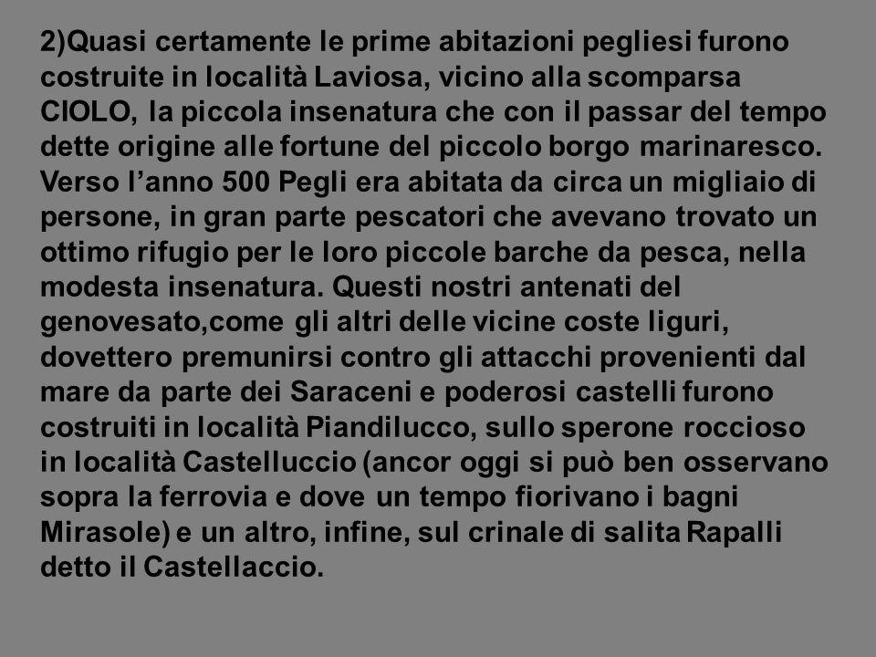 7)IL RINOMATO ALBERGO RISTORANTE PUPPO «AL MARE» SUL LUNGOMARE DI PEGLI.