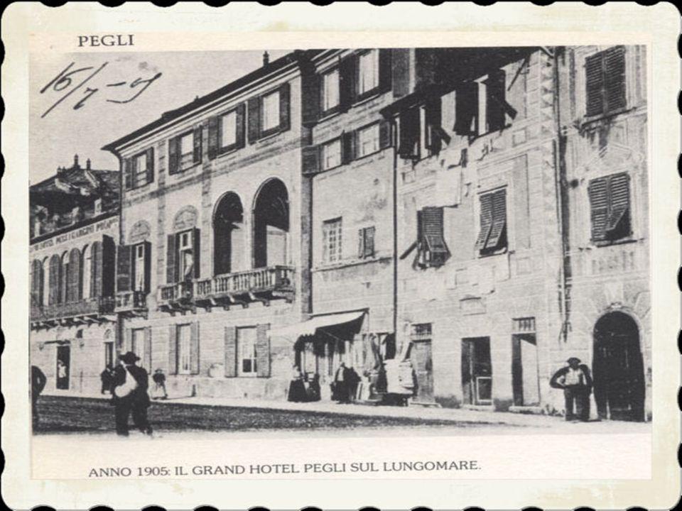 2)Quasi certamente le prime abitazioni pegliesi furono costruite in località Laviosa, vicino alla scomparsa CIOLO, la piccola insenatura che con il pa