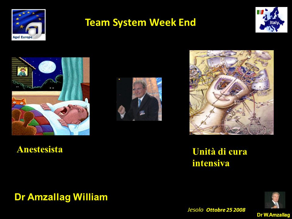 Dr W.Amzallag Jesolo Ottobre 25 2008 5 Team System Week End Siamo diventati carboidrati dipendenti!!!!