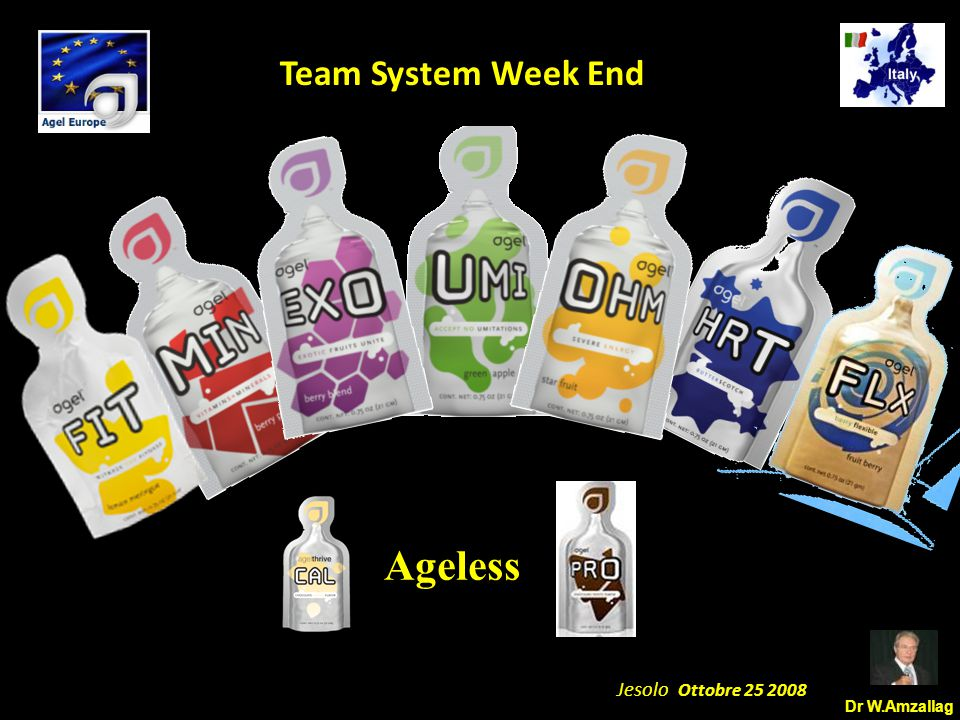 Dr W.Amzallag Jesolo Ottobre 25 2008 5 Team System Week End Ageless