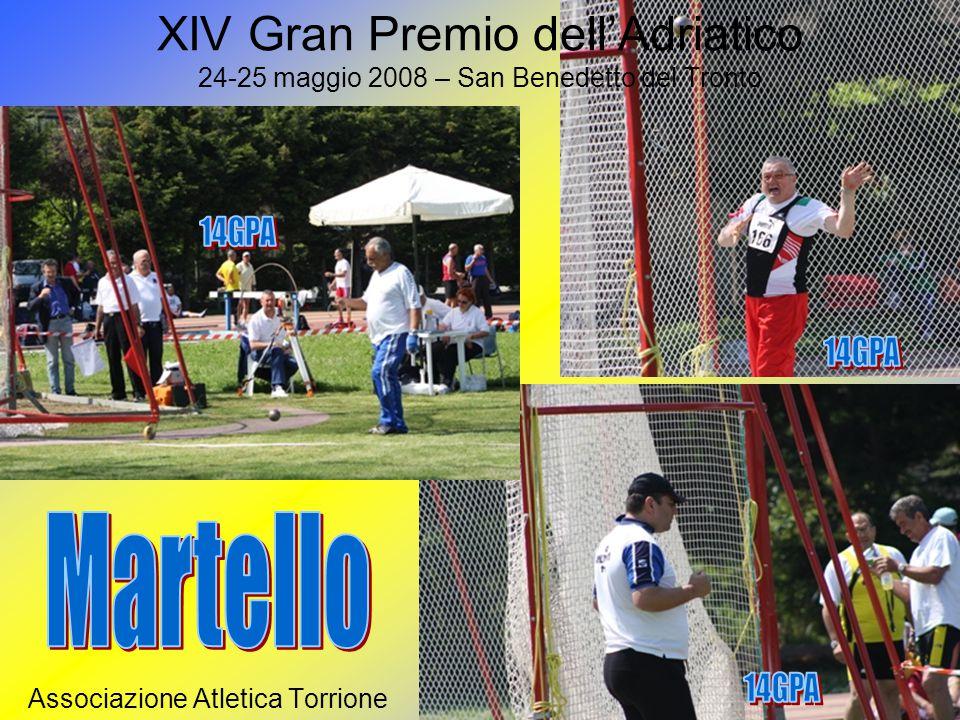 XIV Gran Premio dell'Adriatico 24-25 maggio 2008 – San Benedetto del Tronto