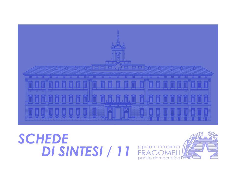 SCHEDE DI SINTESI / 11