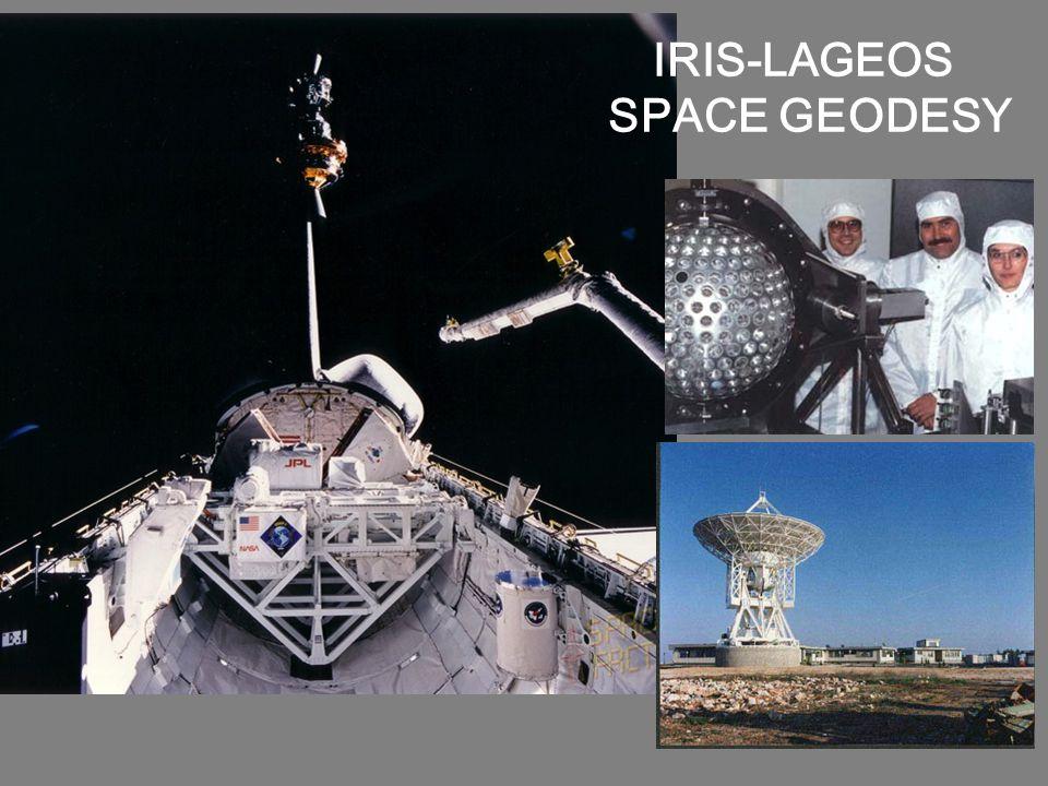 IRIS-LAGEOS SPACE GEODESY