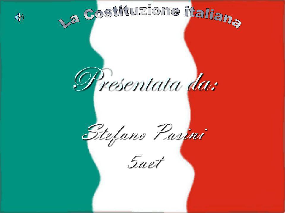 Presentata da: Stefano Pasini 5aet