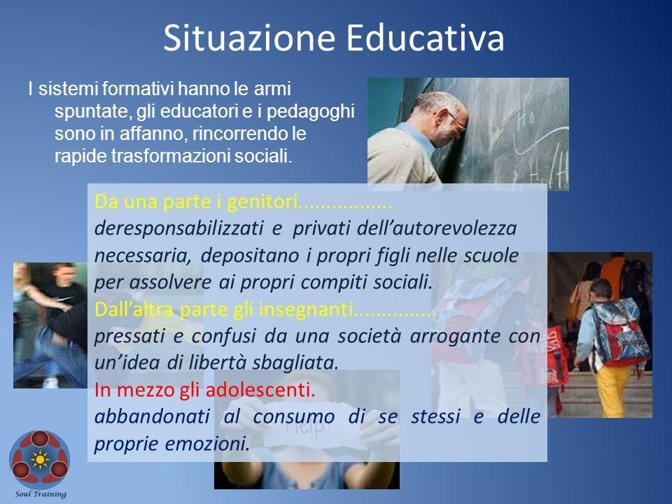 I sistemi formativi hanno le armi spuntate, gli educatori e i pedagoghi sono in affanno, rincorrendo le rapide trasformazioni sociali. Situazione Educ