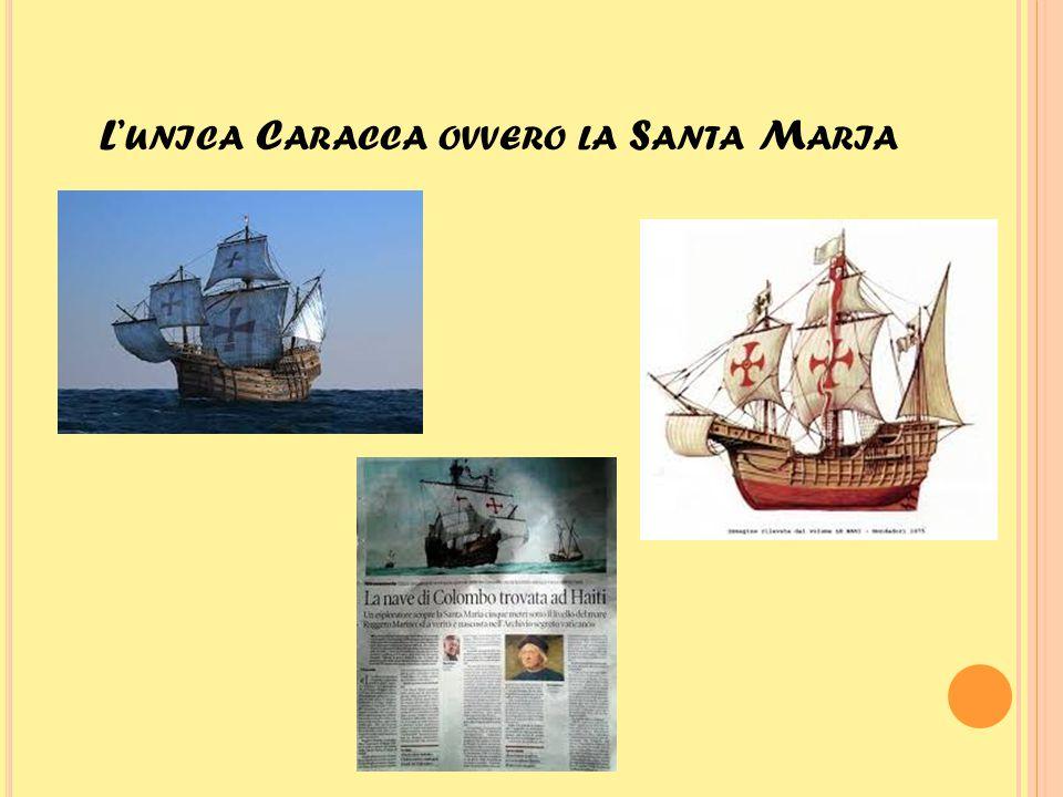 L A P INTA LA NAVE DA CUI SI AVVISTÒ PER LA P RIMA VOLTA L'A MERICA La Pinta fu una delle tre navi utilizzate da Cristoforo nel suo primo viaggio attraverso l'oceano Atlantico nel 1492.
