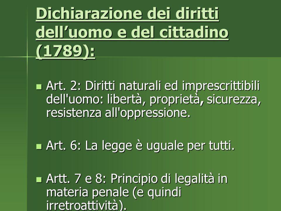 Dichiarazione dei diritti dell'uomo e del cittadino (1789): Art.