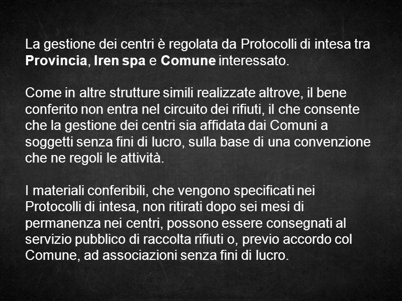 nello specifico L esperienza di Campagnola Emilia è partita nel marzo 2012.