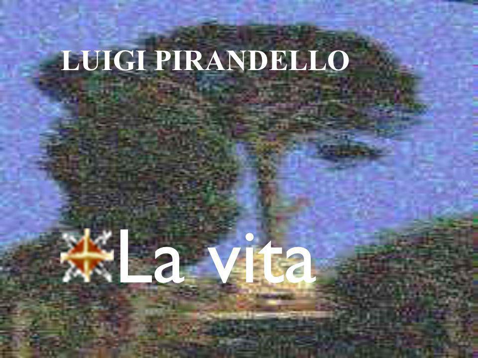 Luigi Pirandello nacque il 28 giugno 1867 presso Girgenti (ribattezzata poi Agrigento sotto il fascismo) da una famiglia di agiata condizione borghese (il padre dirigeva alcune miniere di zolfo prese in affitto) e di tradizioni risorgimentali e garibaldine.