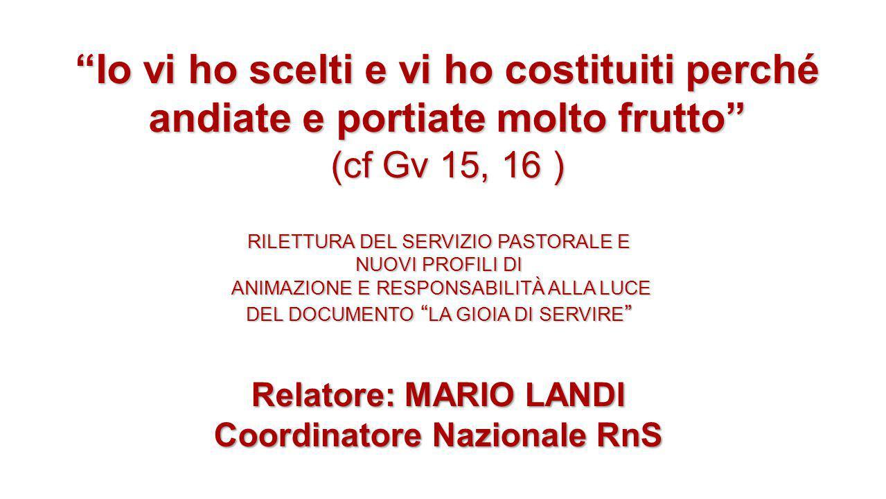 Identità carismatica La vostra definizione è una Corrente di Grazia (Papa Francesco 1 Giugno) Corrente di Grazia: legge della rivelazione, Dio che opera liberamente per se stesso.