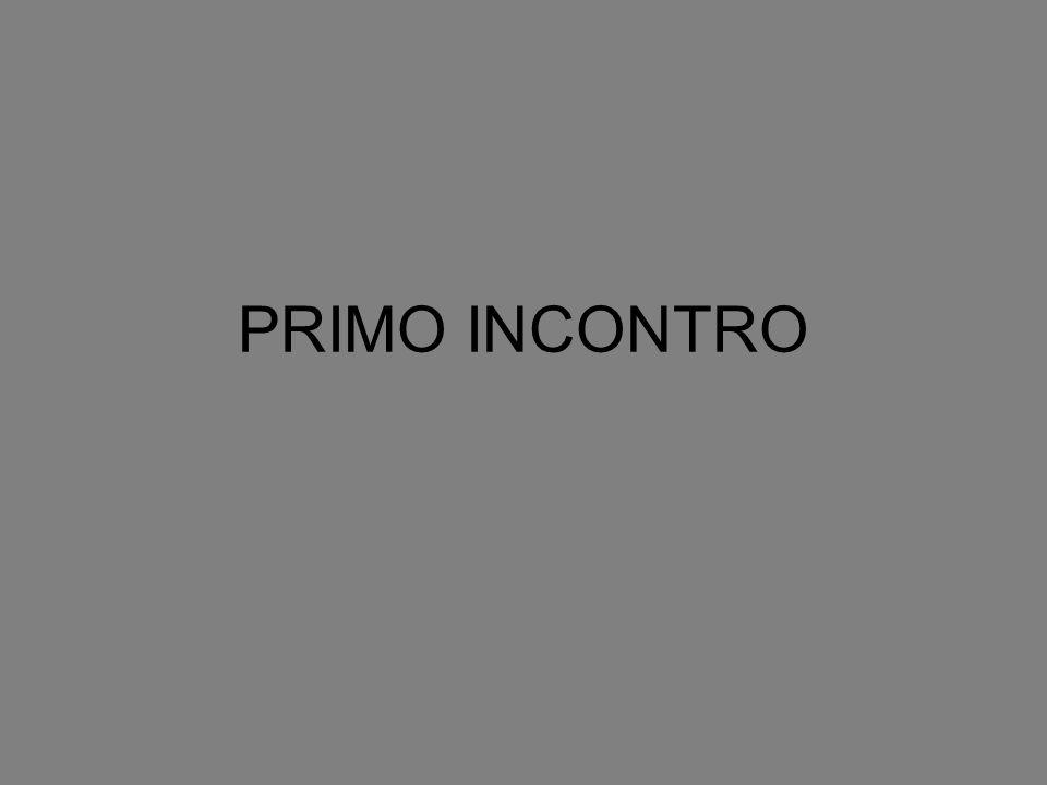 PRIMO INCONTRO