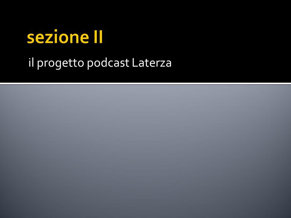 il progetto podcast Laterza