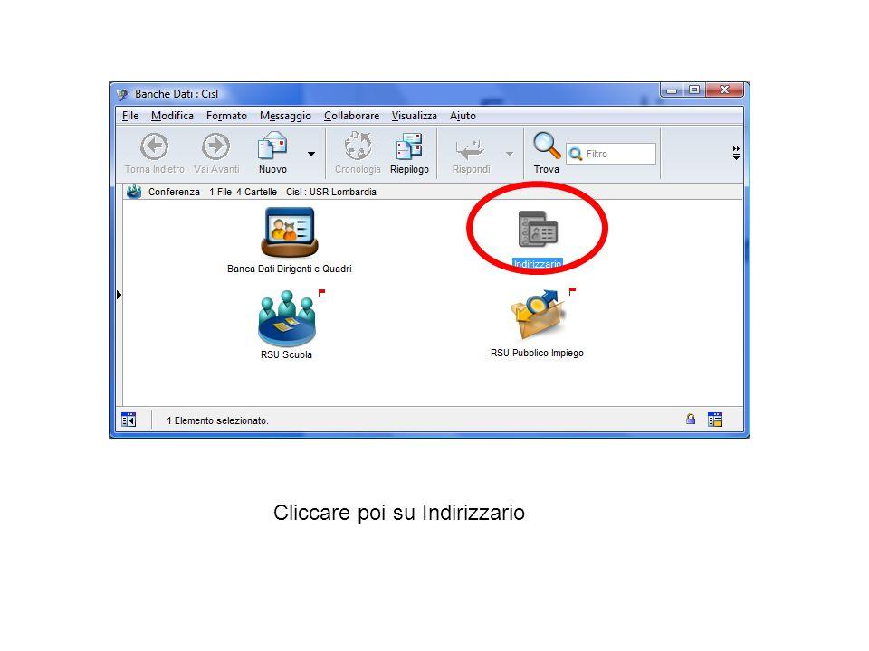 -Clicchiamo sull'icona GESTIONE FILTRI per creare un filtro per estrapolare esclusivamente gli iscritti di cui stampare le tessere 2012, ovvero, gli iscritti attivi all inizio del 2012.