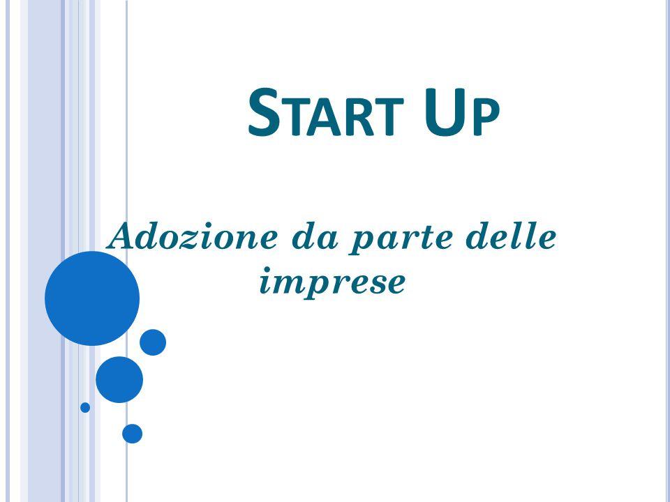 S TART U P I NNOVATIVE In Italia il fenomeno delle Start up ha iniziato a svilupparsi fino a creare un mercato del lavoro vero e proprio.