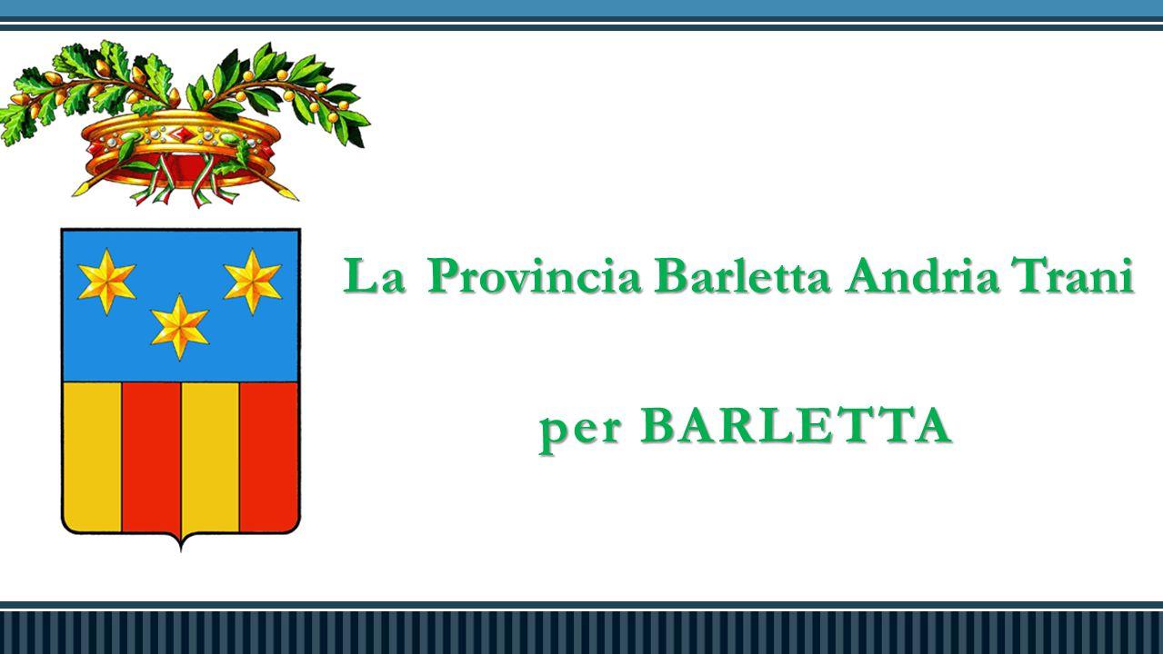 La Provincia Barletta Andria Trani per BARLETTA per BARLETTA