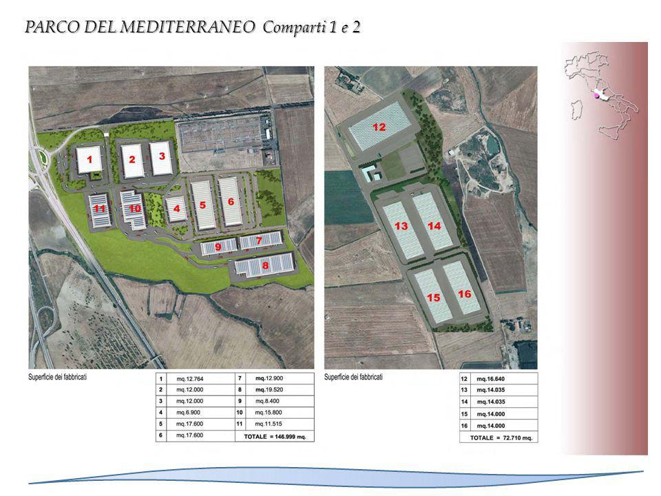 PARCO DEL MEDITERRANEO Comparti 1 e 2