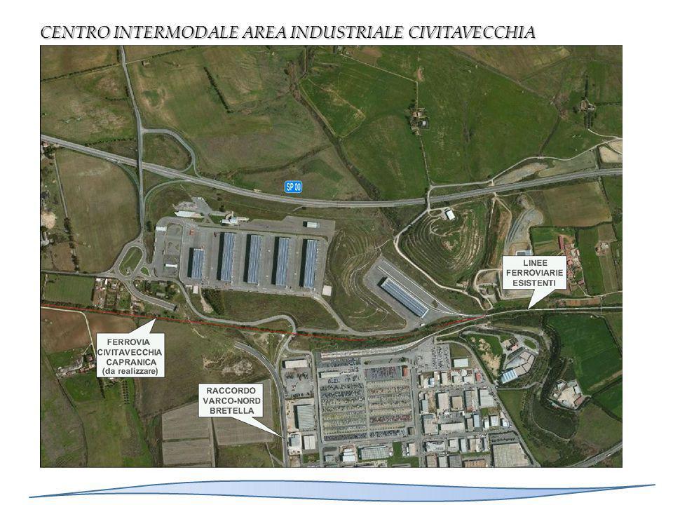 CENTRO INTERMODALE AREA INDUSTRIALE CIVITAVECCHIA