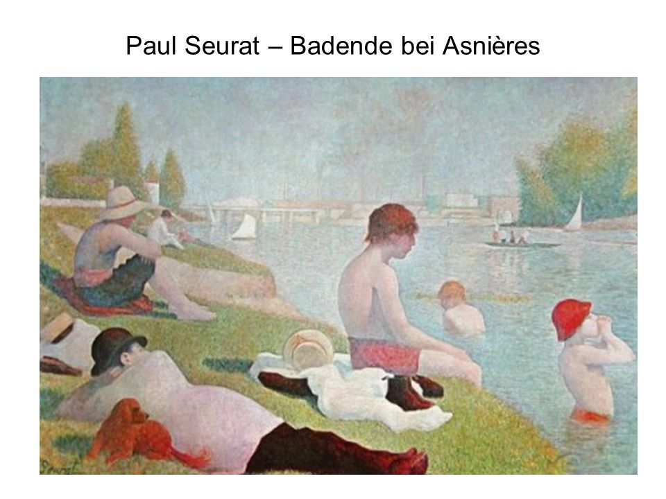 Paul Seurat – Badende bei Asnières