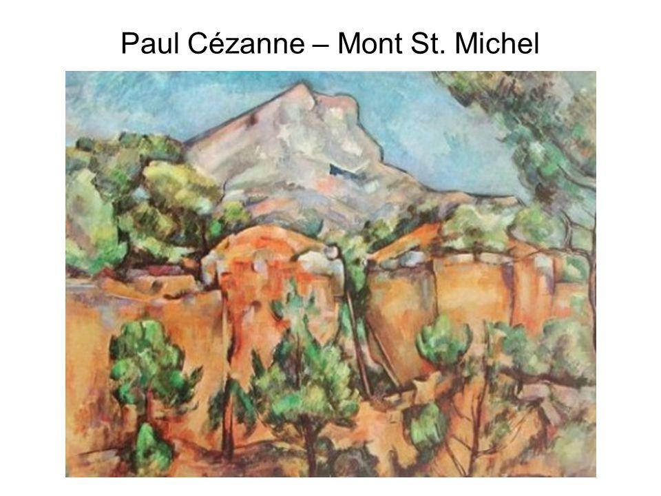 Paul Cézanne – Mont St. Michel