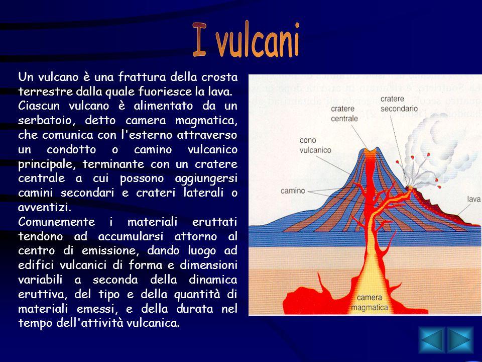 Dinamica della terra Il nostro pianeta non è un inerte ammasso roccioso, bensì è dotato di un calore interno che fornisce l'energia necessaria per lo