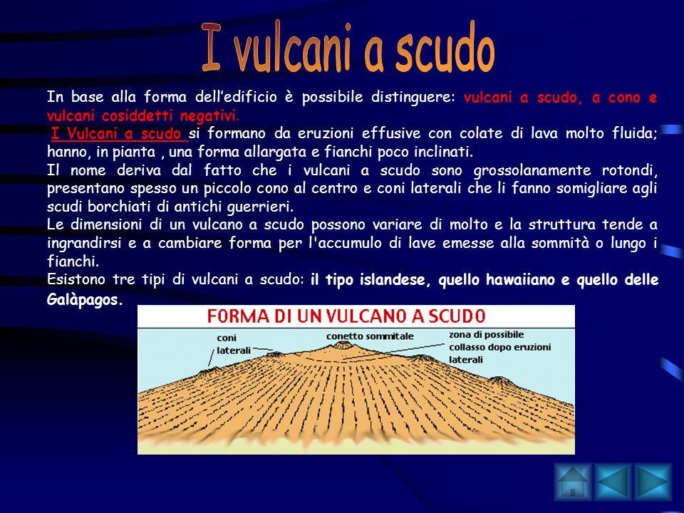 Una prima classificazione di massima prevede la suddivisione dei vulcani in due tipi: monogenici e poligenici. I vulcani monogenici sono il prodotto d