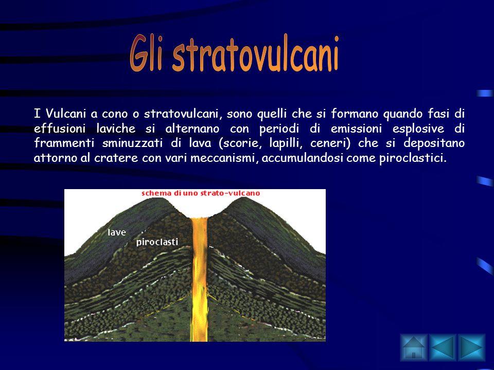 In base alla forma dell'edificio è possibile distinguere: vulcani a scudo, a cono e vulcani cosiddetti negativi.