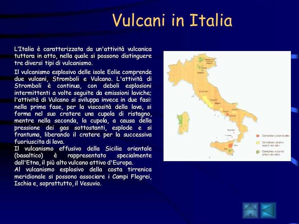 Geografia dei vulcani La distribuzione geografica dei vulcani coincide in grandissima parte con quella dei terremoti: ciò è dovuto al fatto che sismic