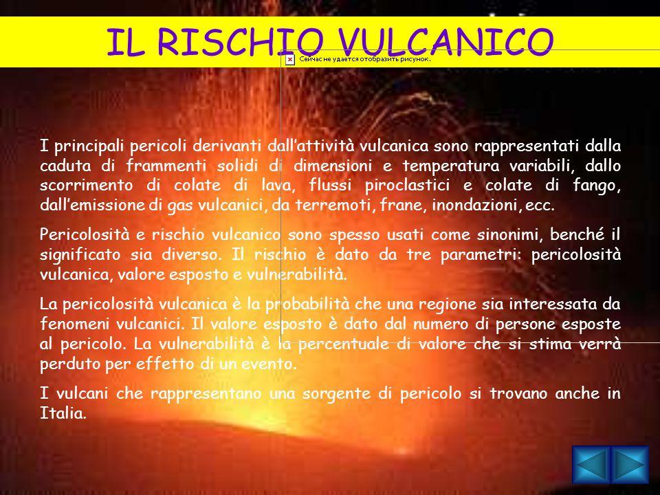 Vulcani in Italia L'Italia è caratterizzata da un attività vulcanica tuttora in atto, nella quale si possono distinguere tre diversi tipi di vulcanismo.