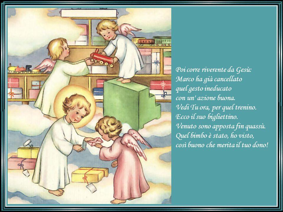 Poi corre riverente da Gesù: Marco ha già cancellato quel gesto ineducato con un azione buona.