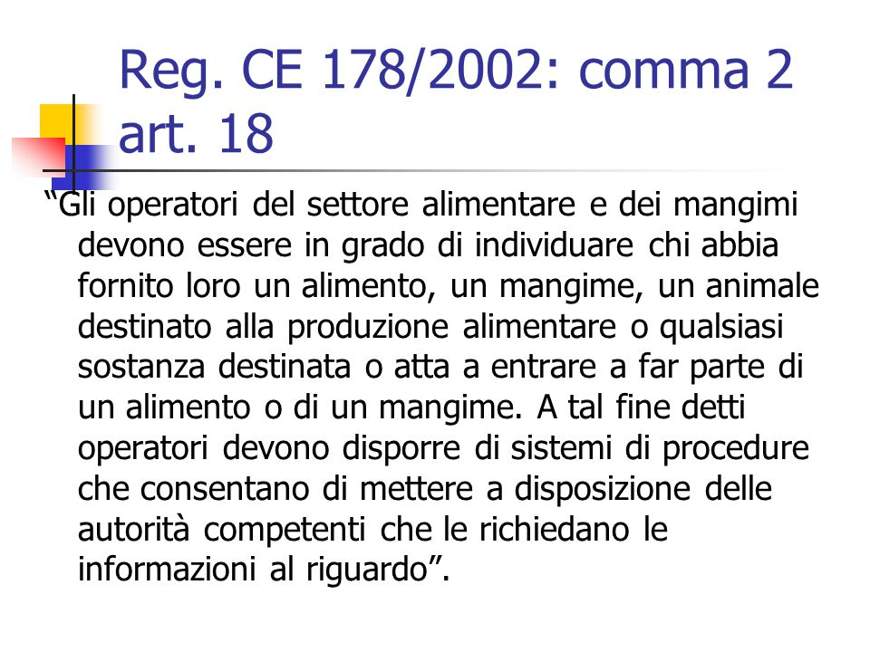Comma 2 reg.