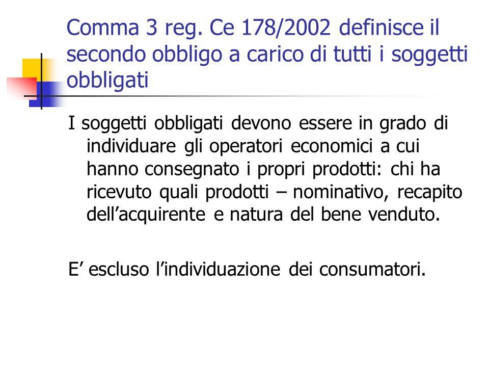 Comma 3 reg.