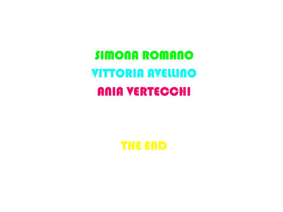 SIMONA ROMANO VITTORIA AVELLINO ANIA VERTECCHI THE END