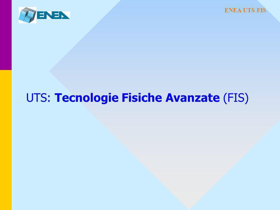 UTS: Tecnologie Fisiche Avanzate (FIS) ENEA UTS FIS