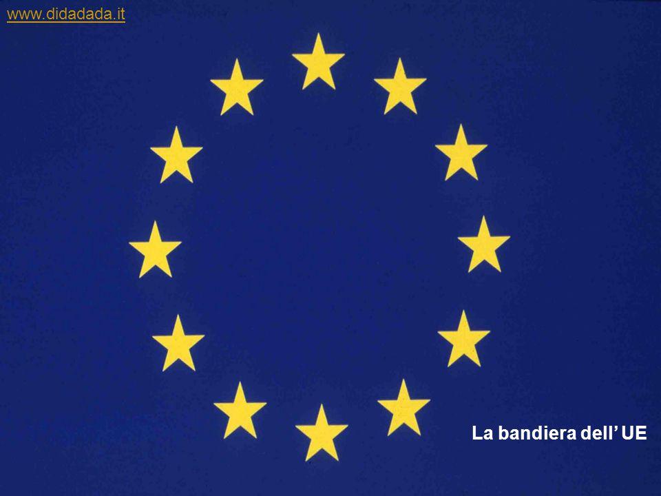 La bandiera dell' UE www.didadada.it