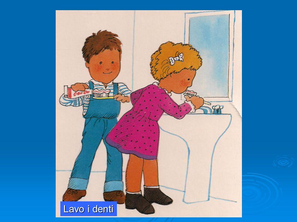 a cura dell'ins.te Lucia Pellegrino nell'ambito del corso PON 'una LIM per tutti' 2014 Lavo i denti