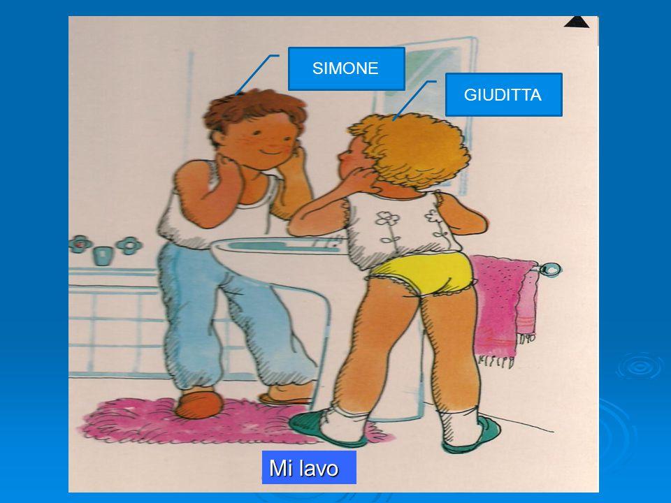 a cura dell'ins.te Lucia Pellegrino nell'ambito del corso PON 'una LIM per tutti' 2014 Mi lavo SIMONE GIUDITTA