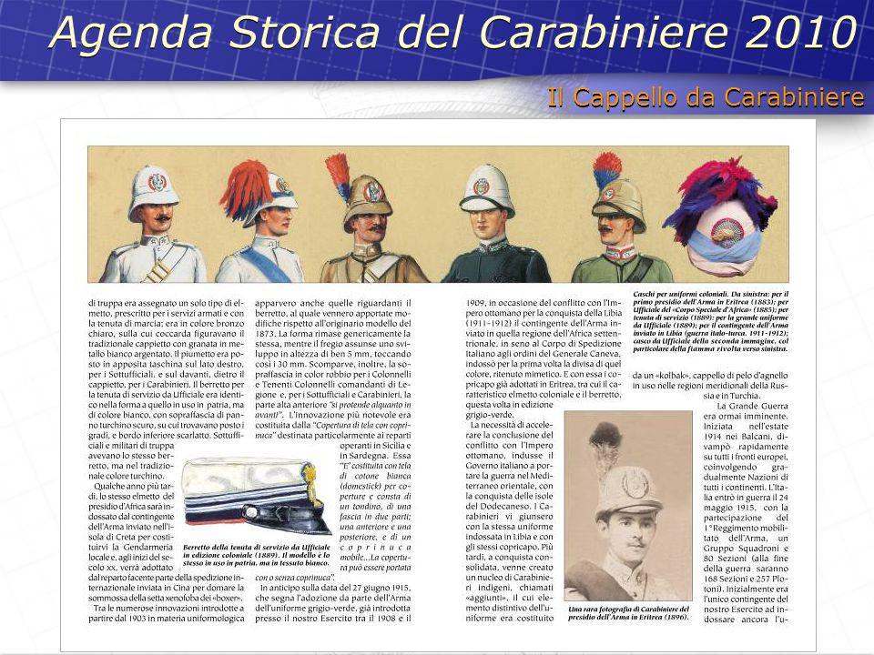 Il Cappello da Carabiniere