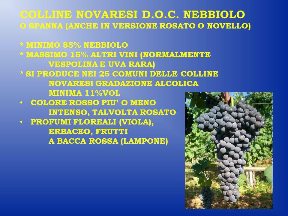 COLLINE NOVARESI D.O.C.