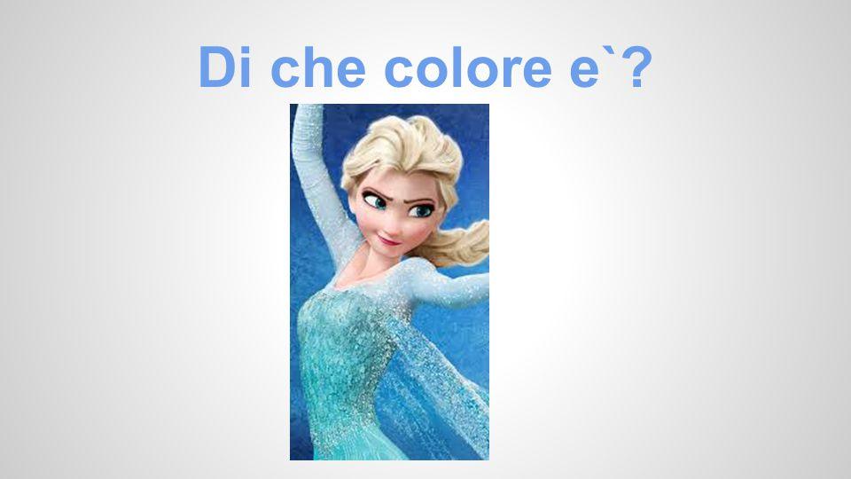 Di che colore e`?