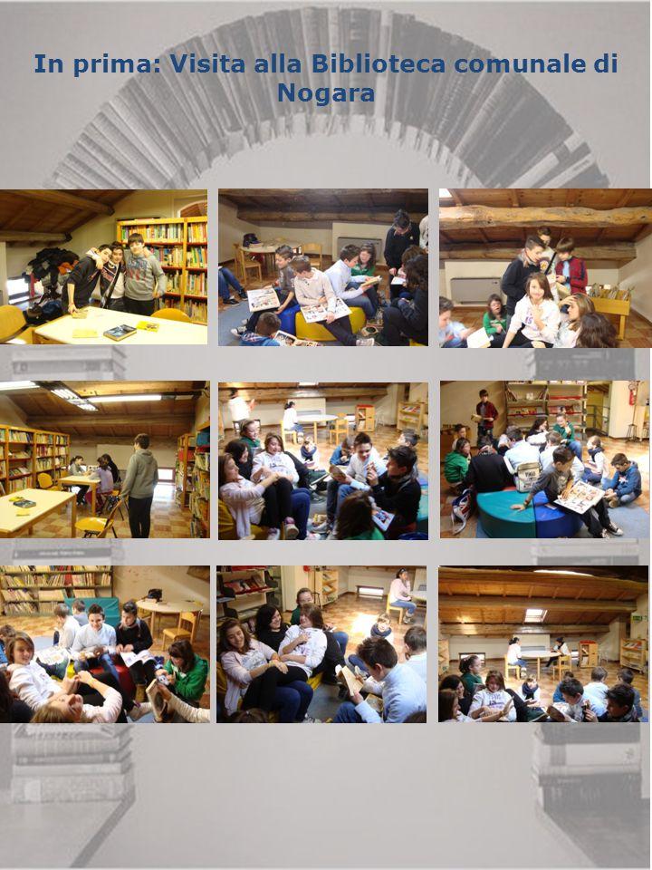 In prima: Visita alla Biblioteca comunale di Nogara