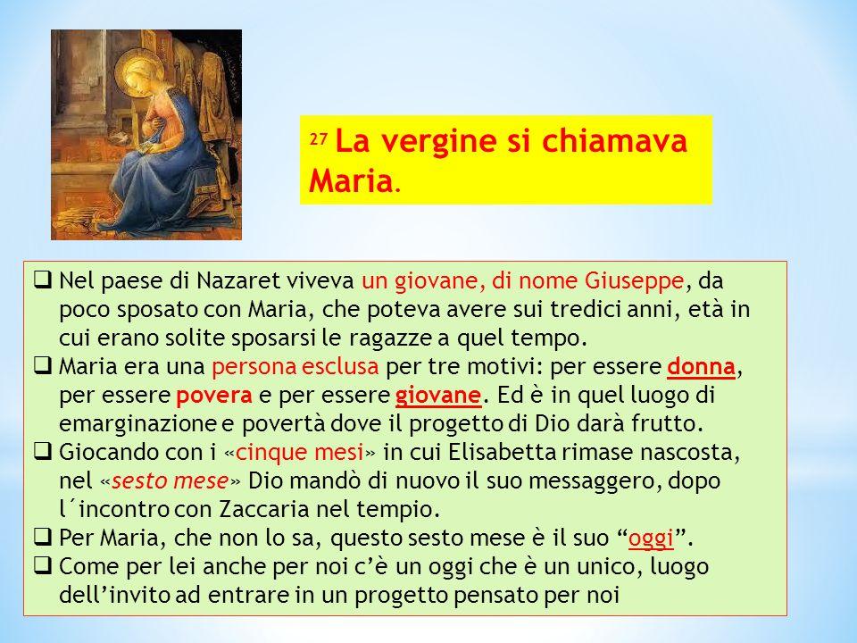  L'angelo esce dalla vita di Maria, lasciandola sola.