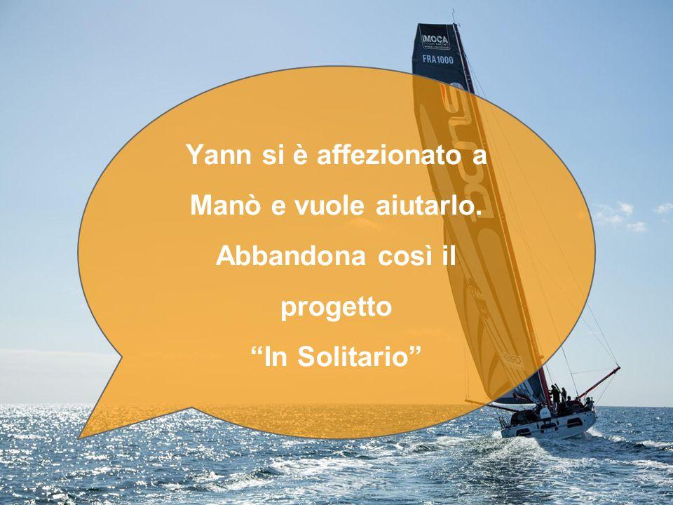 Yann si è affezionato a Manò e vuole aiutarlo. Abbandona così il progetto In Solitario