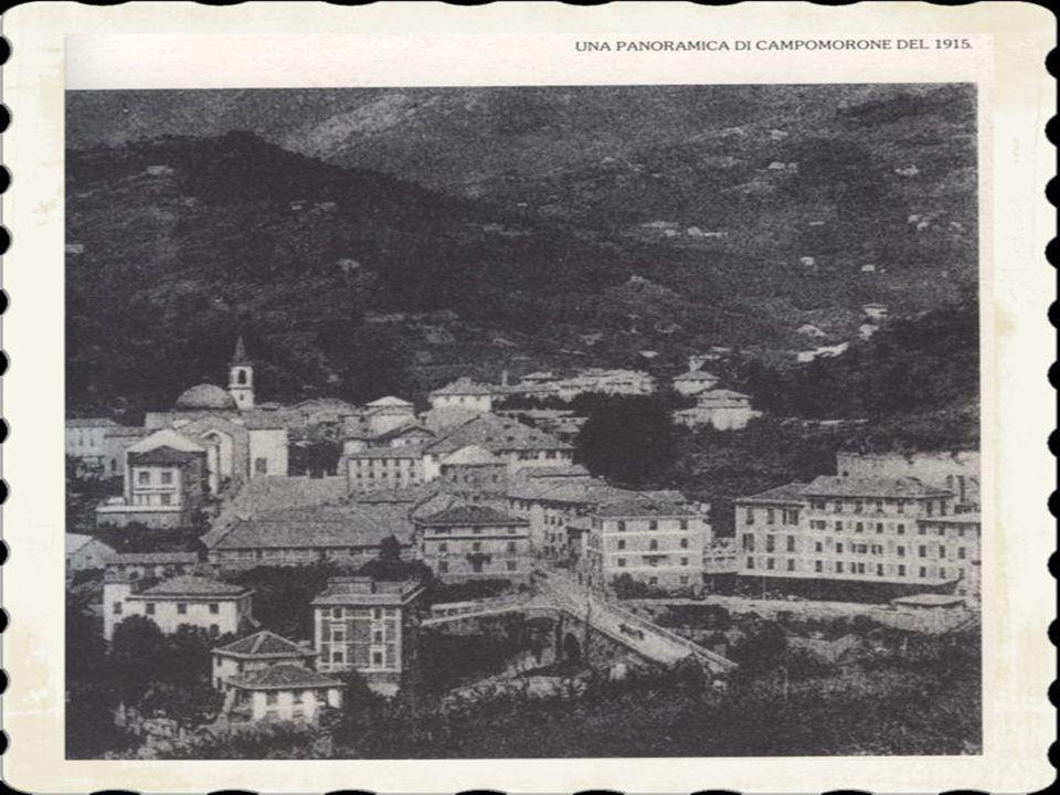 1)Il moderno territorio di Campomorone, che fa capo all'omonimo capoluogo, ebbe le sue origini più lontane nel centro pievano di Santo Stefano di Larv