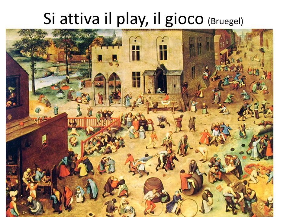 Si attiva il play, il gioco (Bruegel)