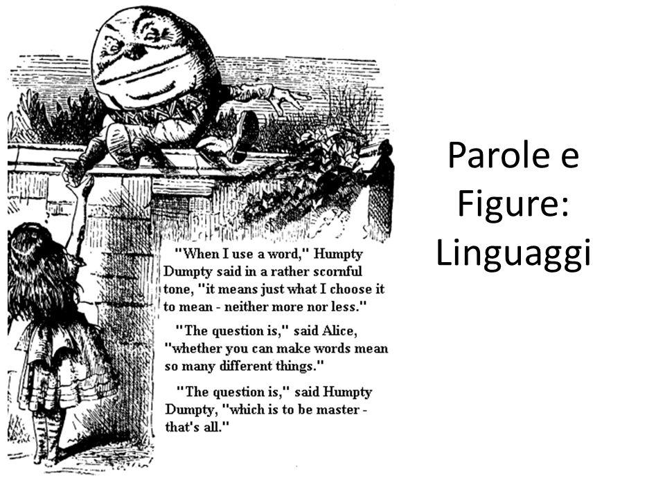 Parole e Figure: Linguaggi