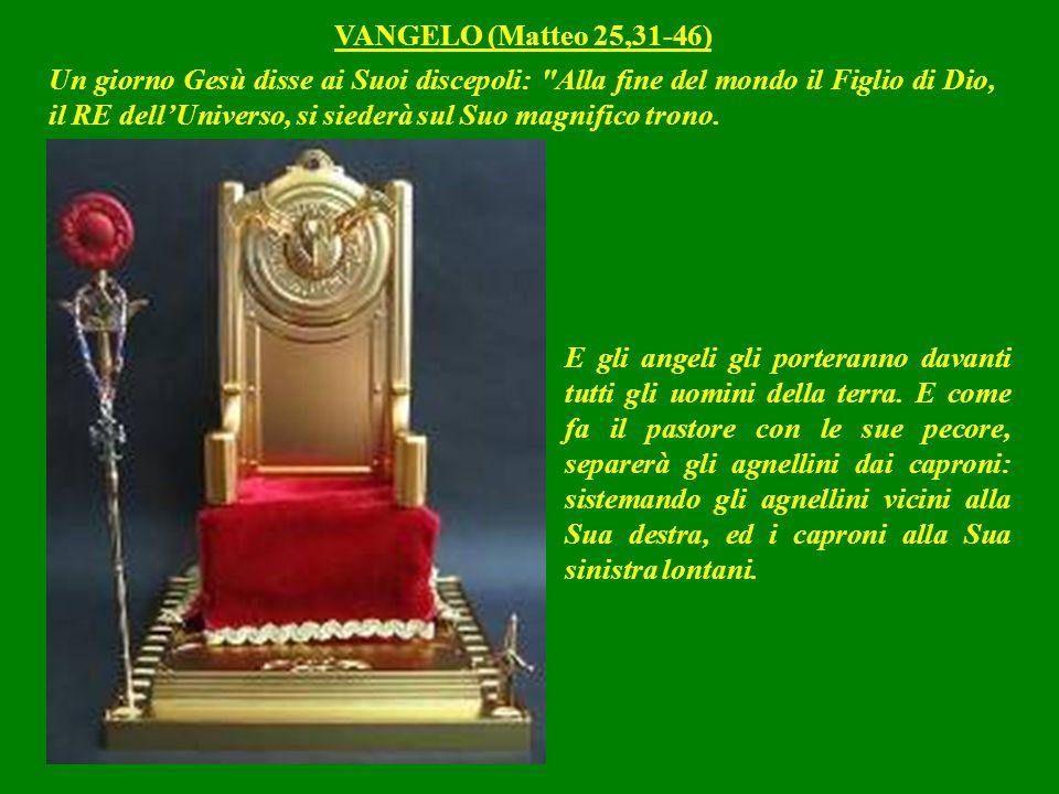Quando poi tutto gli sarà sottomesso, anche Lui, il Figlio, si sottometterà a Suo Padre: che gli ha sottomesso ogni cosa.