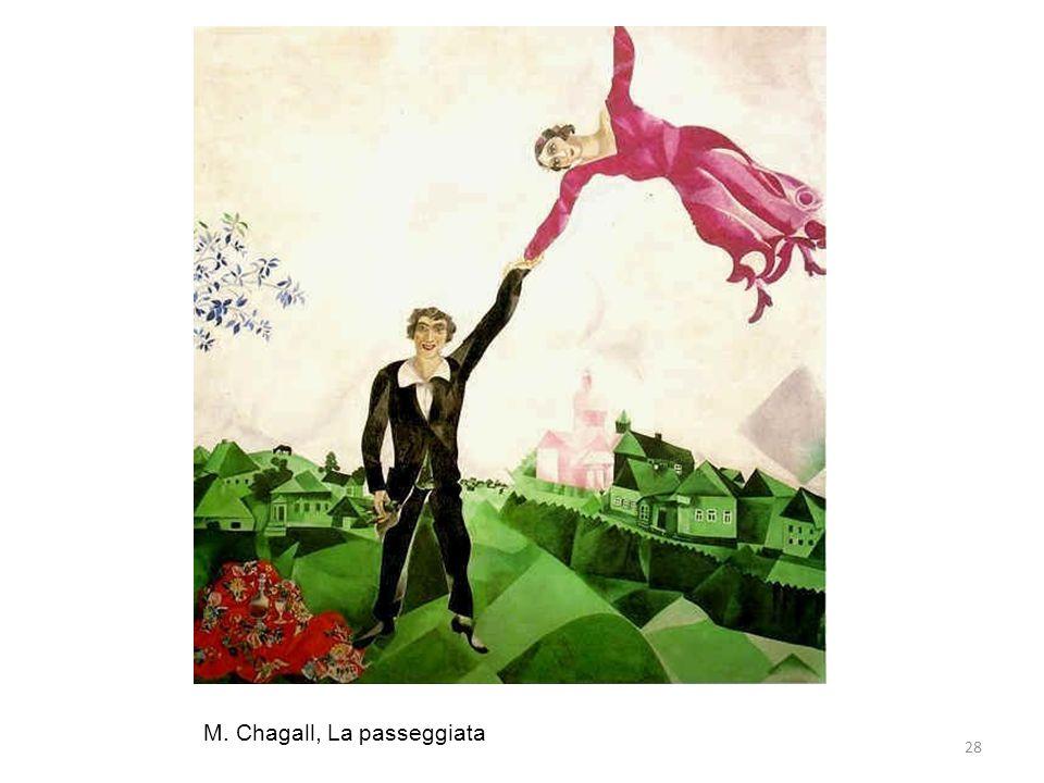 28 M. Chagall, La passeggiata